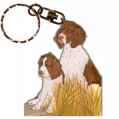 english-springer-spaniel-keychain-all-brown