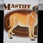 English Mastiff Kitchen Hand Towel 2