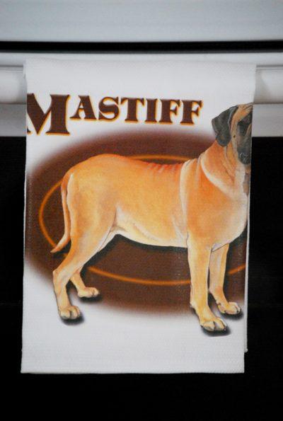 English Mastiff Kitchen Hand Towel