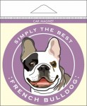 French Bulldog Car Magnet 4x4""