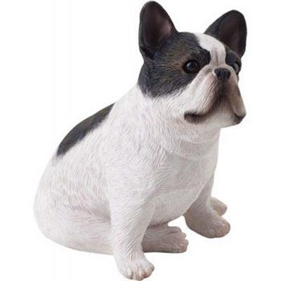 French Bulldog Figurine Hand Painted - Sandicast