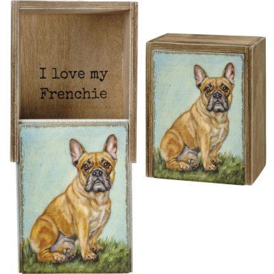 French Bulldog Memory Box