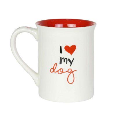 French Bulldog Mom Mug Back Side