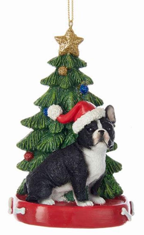 French Bulldog Christmas Ornament.French Bulldog Christmas Tree Ornament