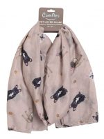 French Bulldog Scarf -Lightweight Cotton Polyester