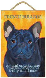 French Bulldog Characteristics Indoor Sign Brindle