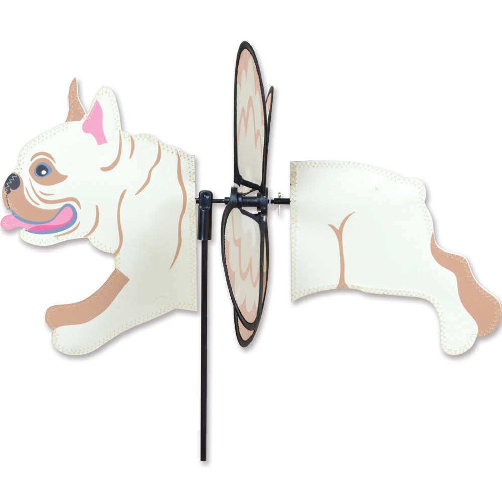 French Bulldog Garden Wind Spinners