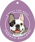 "French Bulldog Sticker 4x4"""