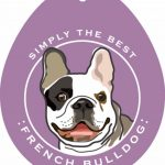 French Bulldog Sticker 4×4″ 1