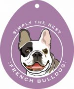 French Bulldog Sticker 4x4""