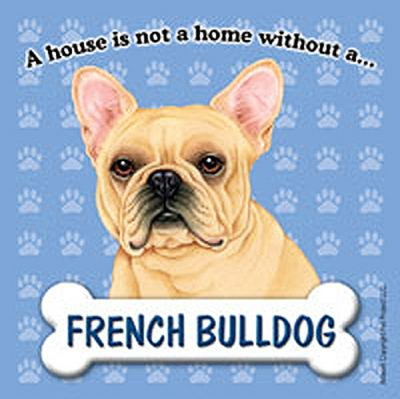 French Bulldog Dog Magnet