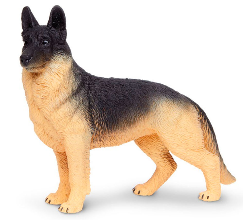 German Shepherd Figurine Toy