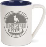 German Shepherd People Mug