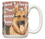 German Shepherd Mug 15 Ounces