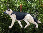 German Shepherd Ornament Tan