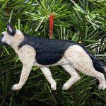 German Shepherd Ornament Tan 1