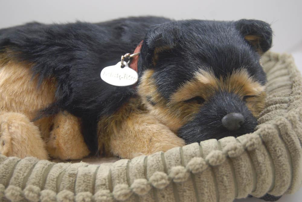 German Shepherd Life Like Stuffed Animal Breathing Dog Perfect Petzzz