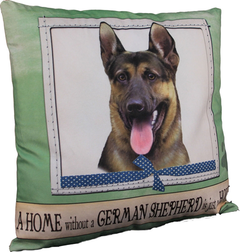 German Shepherd Pillow 16x16 Polyester