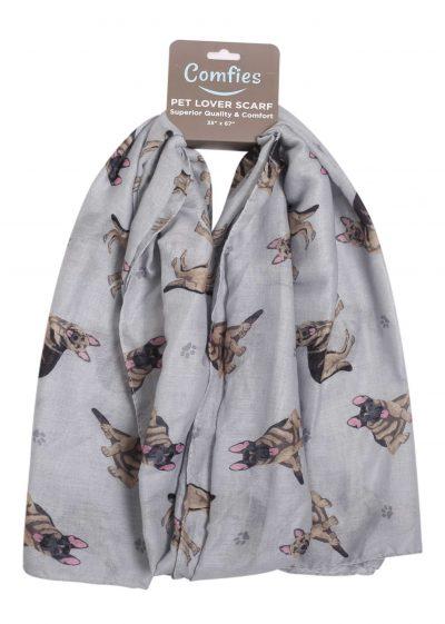 German Shepherd Scarf -Lightweight Cotton Polyester