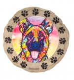 German Shepherd Stepping Stone