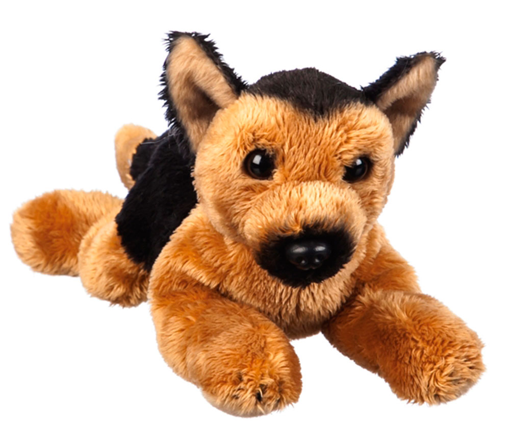 German Shepherd Bean Bag Stuffed Animal