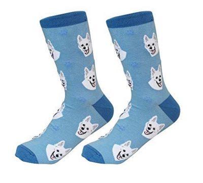 German Shepherd White Socks
