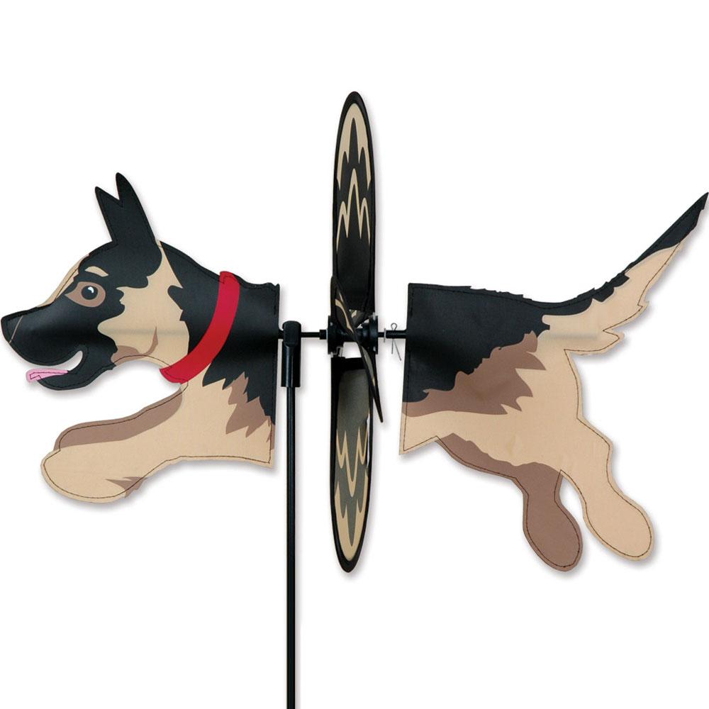 German Shepherd Garden Wind Spinners