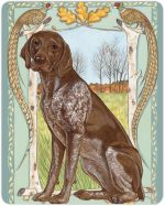 german-shorthair-pointer-cutting-board