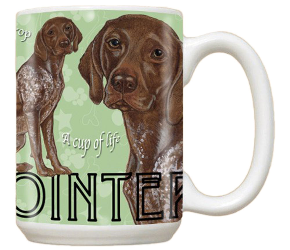 German Shorthair Pointer Mug 15 Ounces