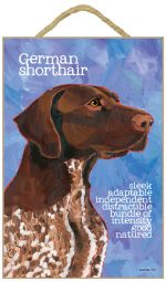 German Shorthair Pointer Characteristic Sign