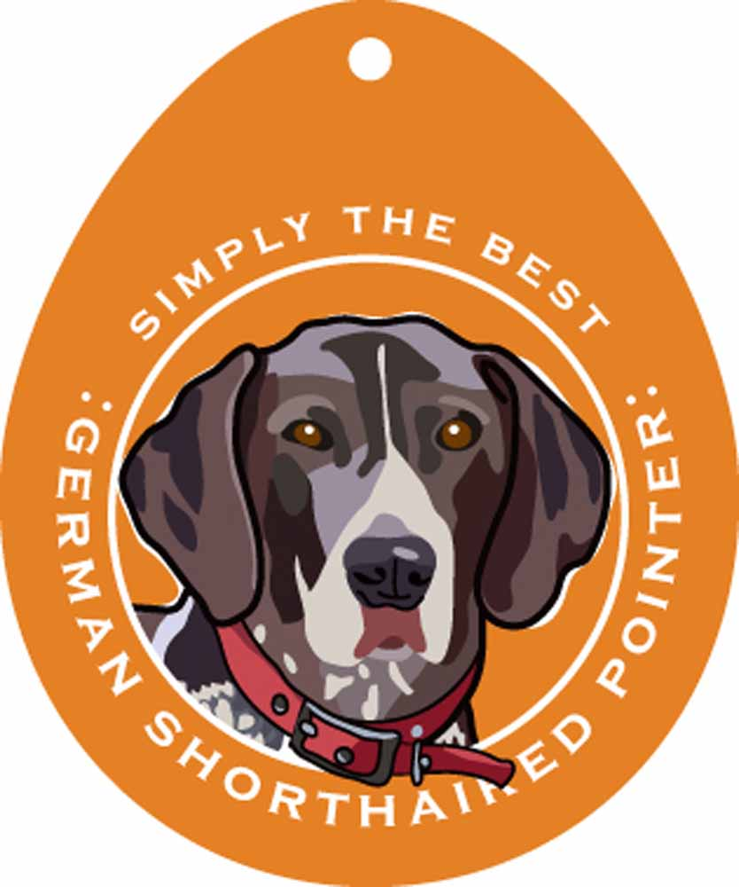 German Shorthaired Pointer Sticker 4x4""