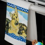 German Shepherd Kitchen Hand Towel 1