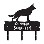German Shepherd Metal Leash Hook