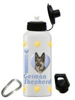 German Shepherd Water Bottle Stainless Steel 20 oz