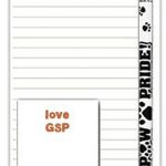 German Shorthair Pointer Dog Notepads To Do List Pad Pencil Gift Set 1
