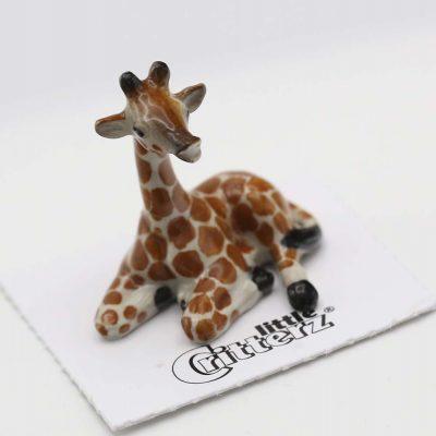 Giraffe Porcelain Figurine