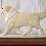 golden-retriever-figurine-plaque-cream