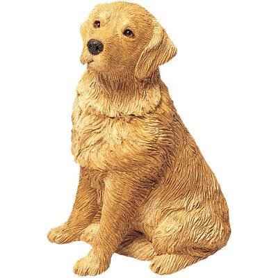 Golden Retriever Sandicast Figurine Original Size