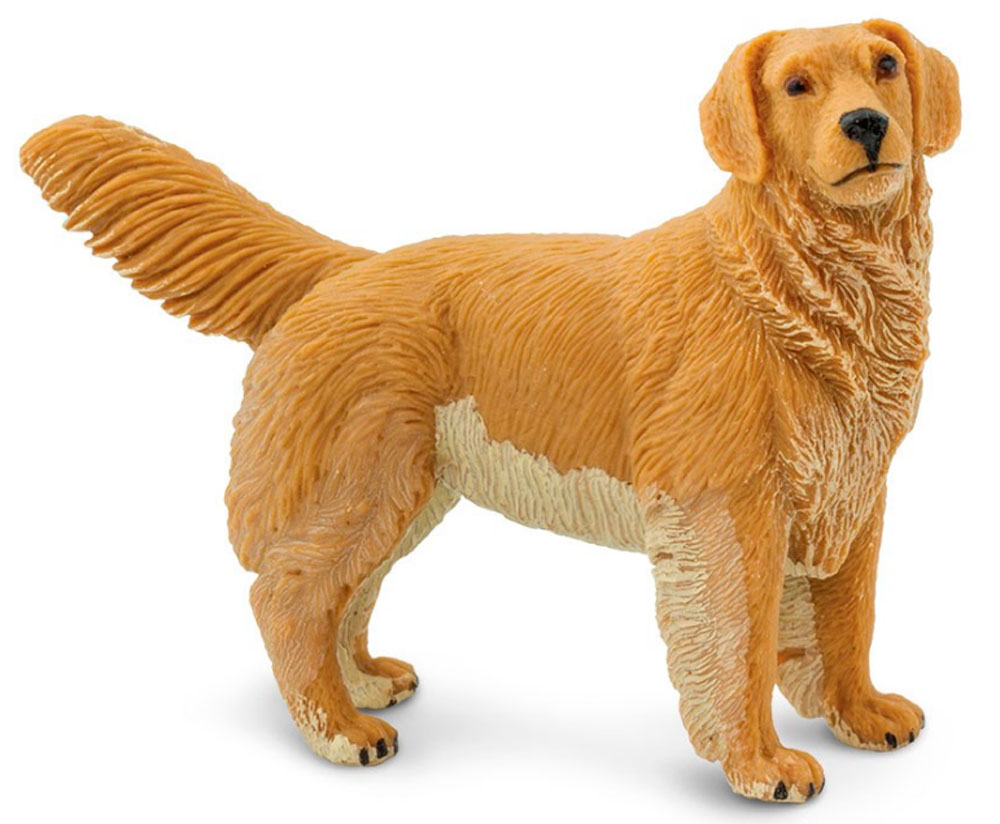 Golden Retriever Figurine Toy