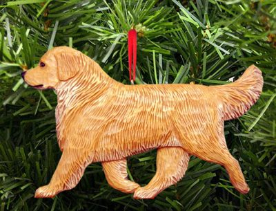 golden-retriever-ornament-light