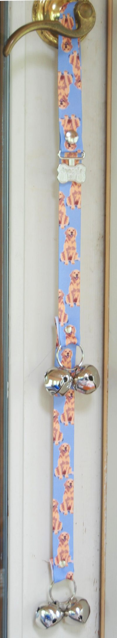 Golden Retriever Puppy Dog Potty Training Doorbells Poochie Bells 1