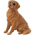 golden-retriever-sandicast-figurine-sitting