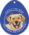 """Golden Retriever Sticker 4x4"""""""