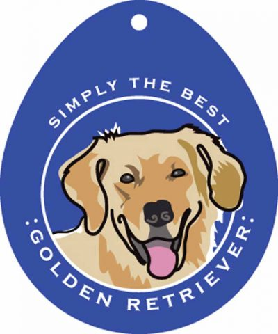 Golden Retriever Sticker 4×4″ 1