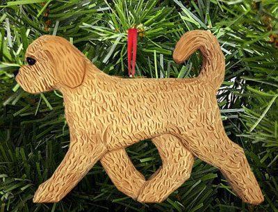 Goldendoodle Ornament Blonde