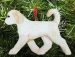 Goldendoodle Ornament Cream