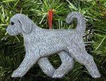 Goldendoodle Ornament Gray