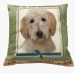 Goldendoodle Pillow 16x16 Polyester