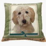 Goldendoodle Pillow 16×16 Polyester 1