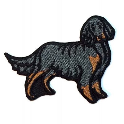 gordon-setter-iron-on-embroidered-patch